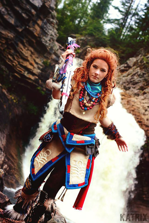 Aloy from Horizon Zero Dawn Cosplay