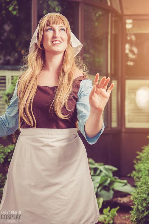 Housework Cinderella Cosplay