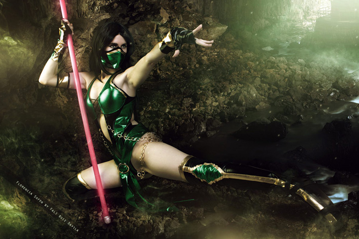 Jade from Mortal Kombat Cosplay