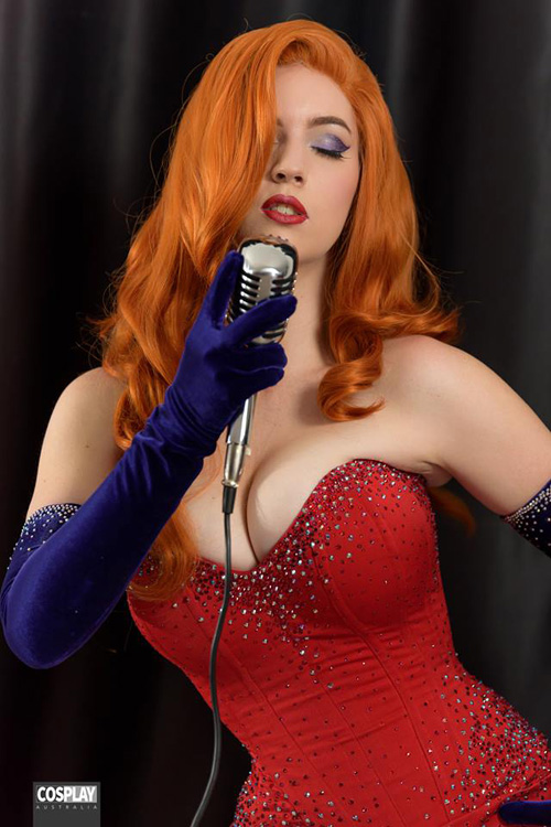Jessica Rabbit Cosplay