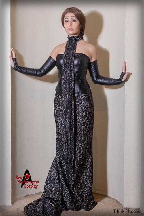 Padme Amidala Dinner Gown Cosplay