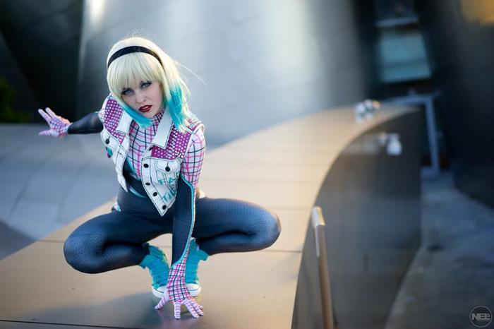 Punk Spider-Gwen Cosplay