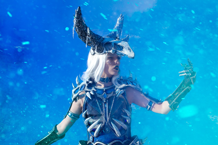 Sindragosa from World of Warcraft Cosplay