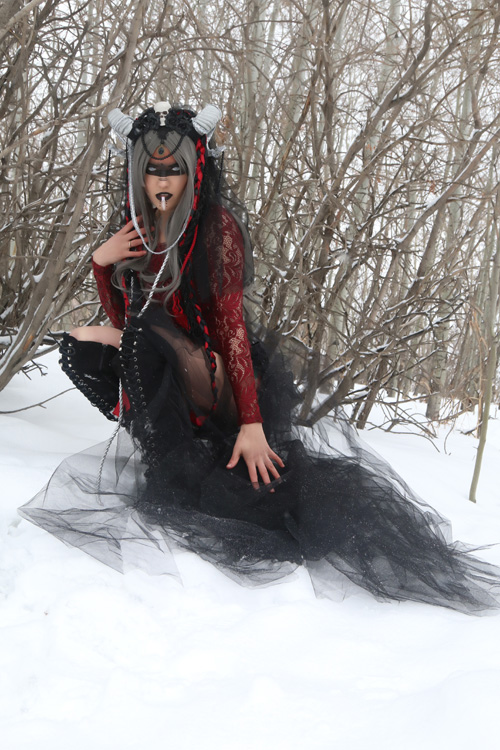 The Winter Huntress Photoshoot