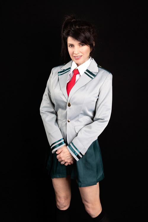 Yaoyorozu Momo from My Hero Academia Cosplay