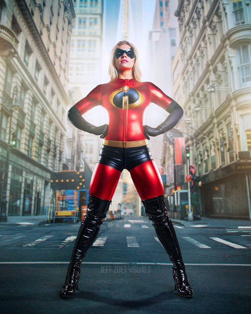 Elastigirl from The Incredibles Cosplay