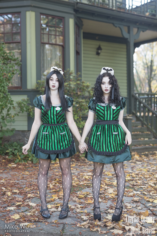 Ghost Hostesses from The Haunted Mansion Cosplay