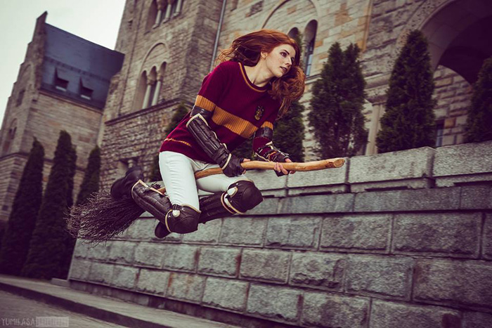 Ginny Weasley from Harry Potter Cosplay