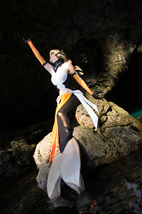 Mermaid Mercy from Overwatch Cosplay