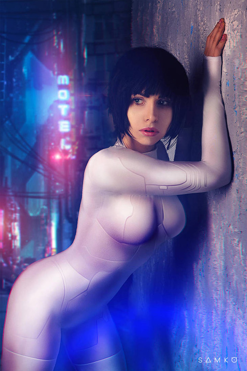 Motoko from Ghost in the Shell Cosplay