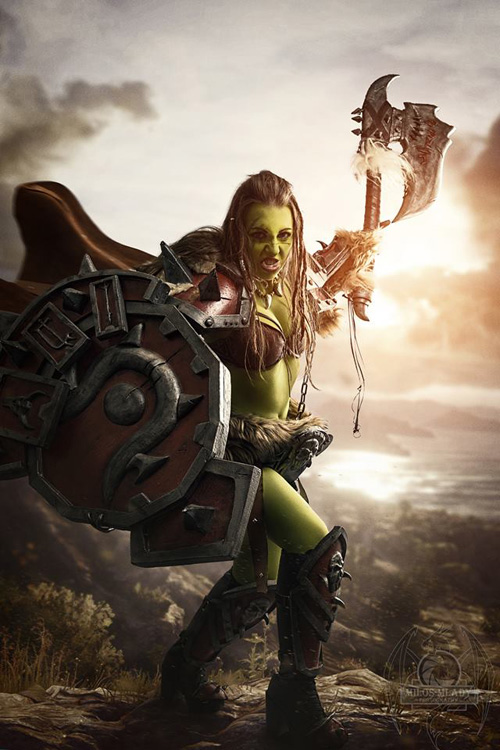 Warsong Commander from Hearthstone Cosplay