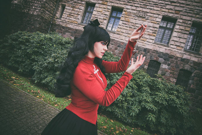 Rin Tohsaka from Fate Stay/Night Cosplay