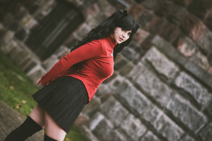Rin Tohsaka from Fate Stay/Night Cosplay