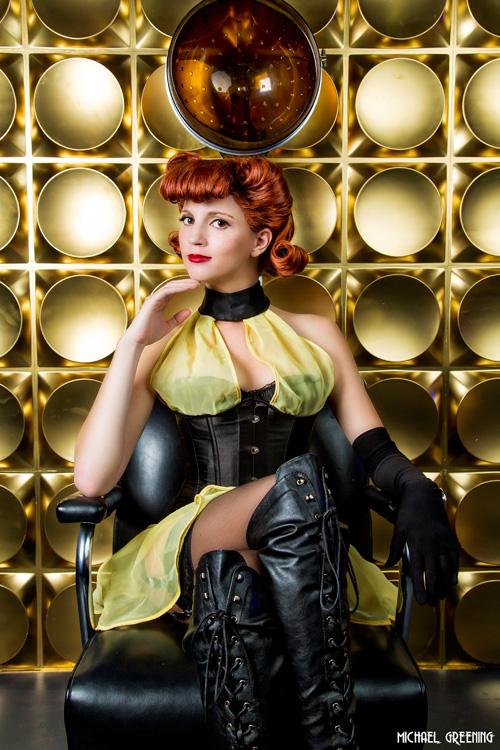 Sally Jupiter from Watchmen Cosplay