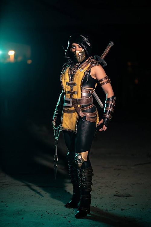 Scorpion from Mortal Kombat Cosplay