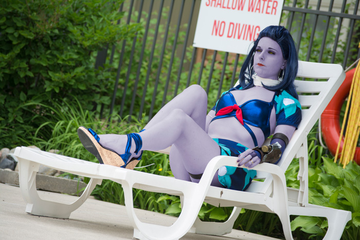 Summer Skin Widowmaker from Overwatch Cosplay