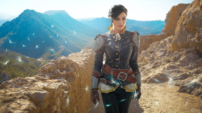 Syanna from The Witcher 3: Wild Hunt Cosplay