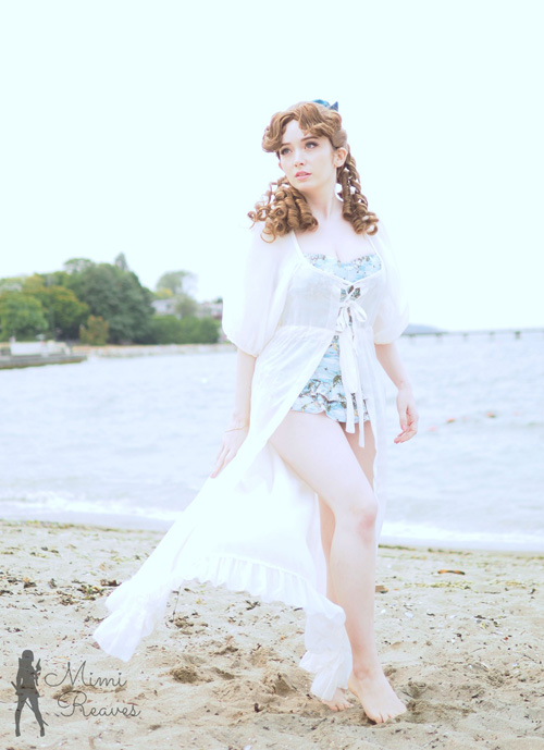 Wendy Darling from Peter Pan Swimsuit Photoshoot
