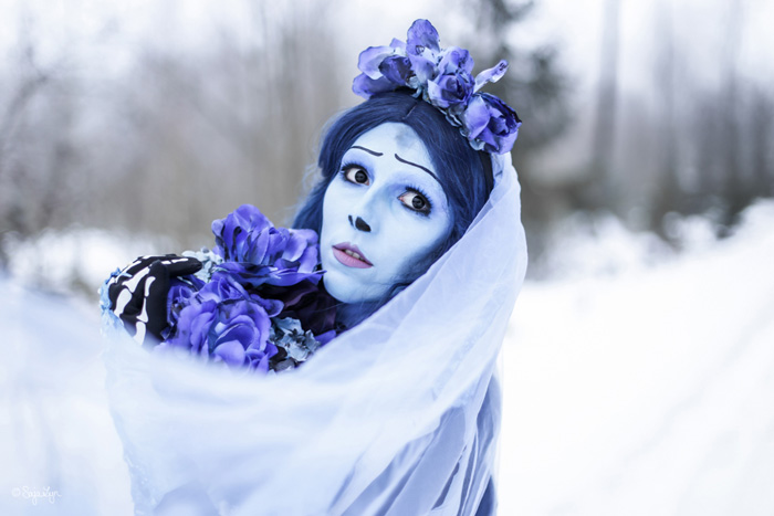 Emily from Corpse Bride Cosplay
