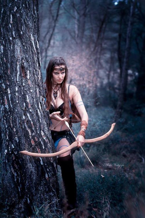 Elf Archer Fantasy Cosplay