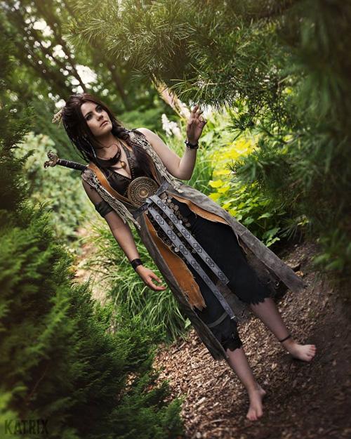 Freya from God of War Cosplay