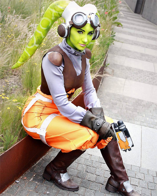 Hera from Star Wars Rebels Cosplay
