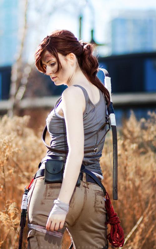 Lara Croft & Alex from Tomb Raider Cosplay