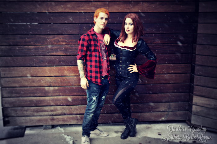 Willow and Oz from Buffy the Vampire Slayer Cosplay