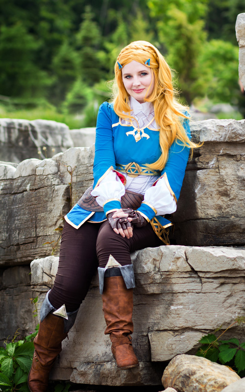 Princess Zelda from Breath of the Wild Cosplay