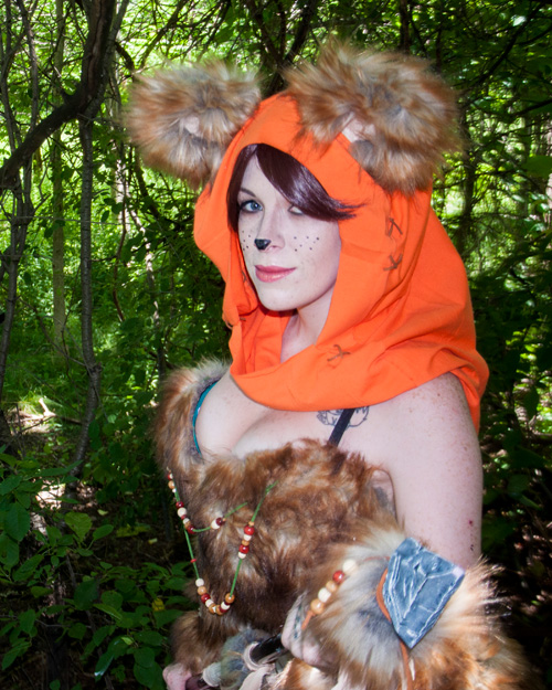 Ewok from Star Wars Cosplay