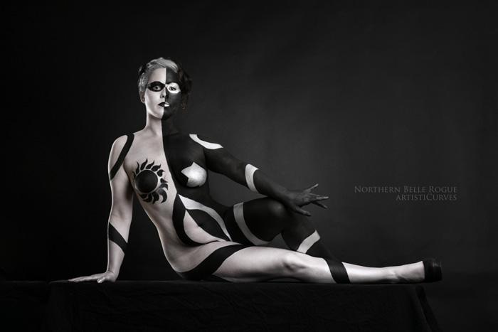 Persephone Body Paint