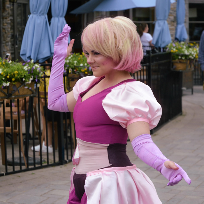 Pink Diamond from Steven Universe Cosplay