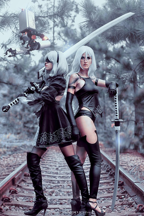 A2 & 2B from Nier: Automata Cosplay