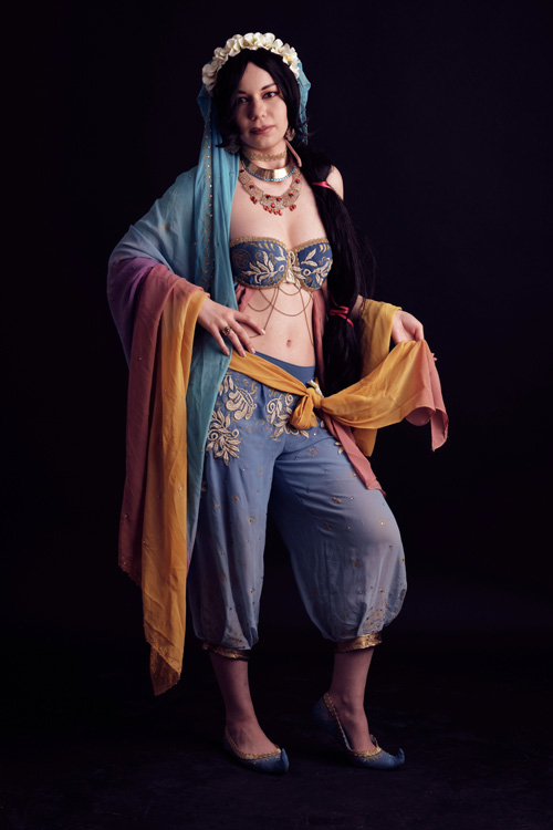 Princess Jasmine from Aladdin Cosplay
