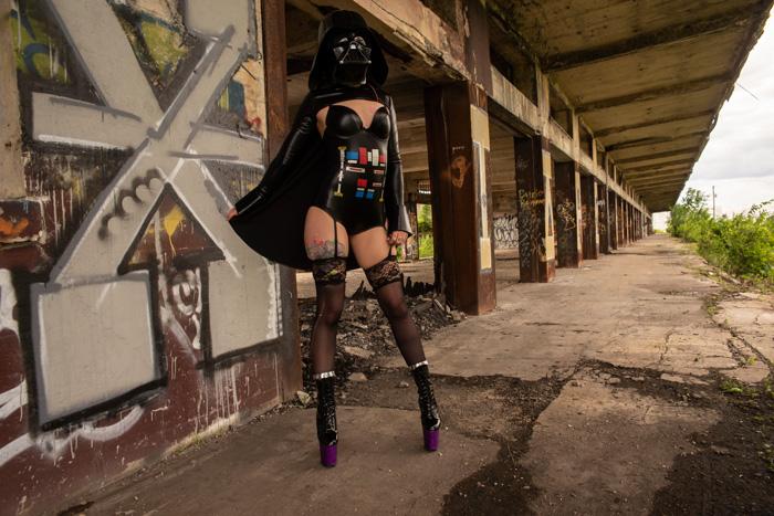 Sexy Darth Vader Cosplay