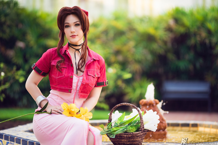 Aerith from Final Fantasy VII Cosplay