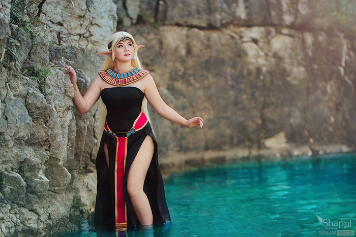 Deedlit from Record of Lodoss War Cosplay