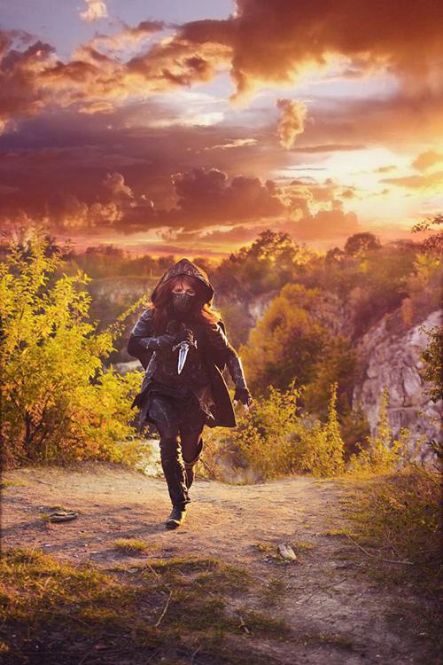Nightingale from Skyrim Cosplay