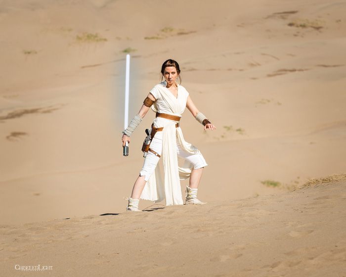Rey from Star Wars: The Rise of Skywalker Cosplay