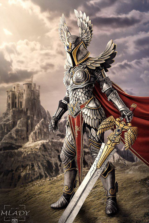Haven Paladin from Might & Magic Heroes VII Cosplay