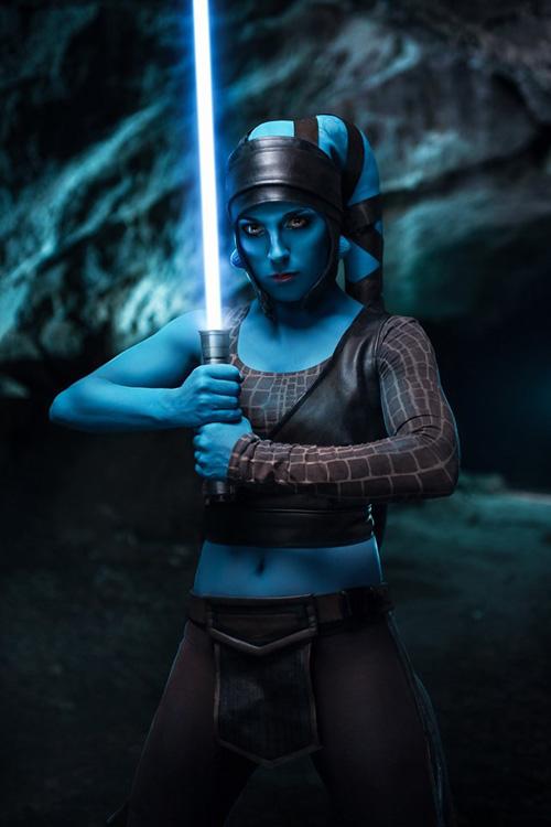 Aayla Secura from Star Wars Cosplay