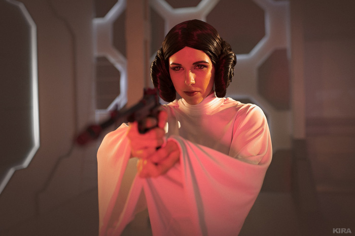 Princess Leia Star Wars Cosplay