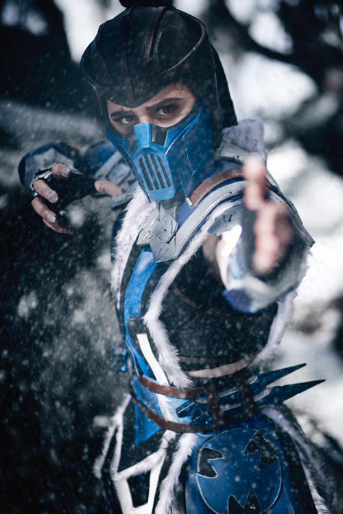 Sub-Zero from Mortal Kombat Cosplay