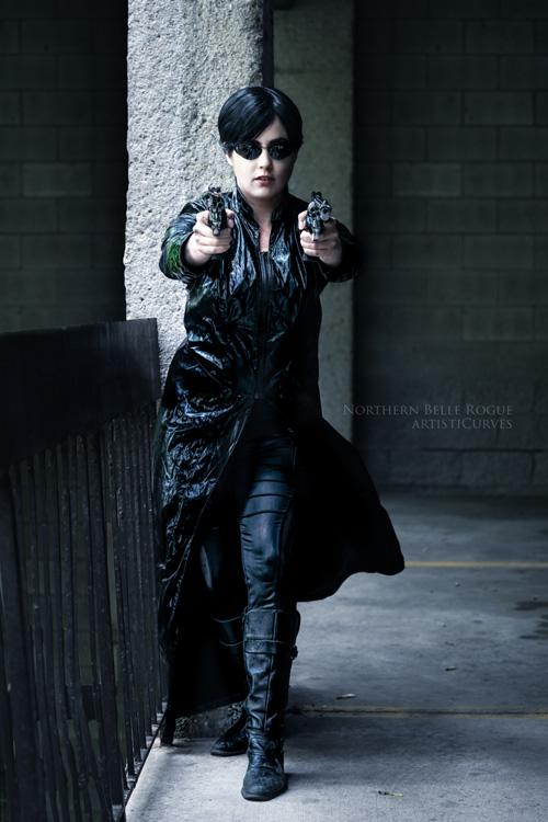 Trinity from The Matrix Cosplay