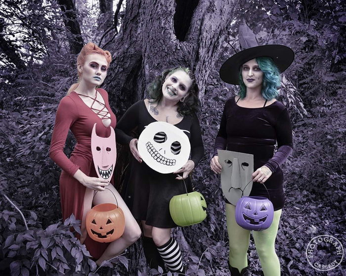 Lock, Shock & Barrel from The Nightmare Before Christmas Cosplay