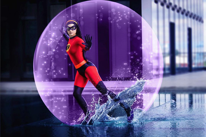 Violet Parr from The Incredibles Cosplay
