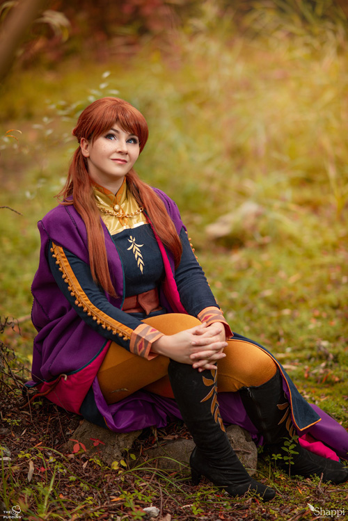 Anna From Frozen 2 Cosplay