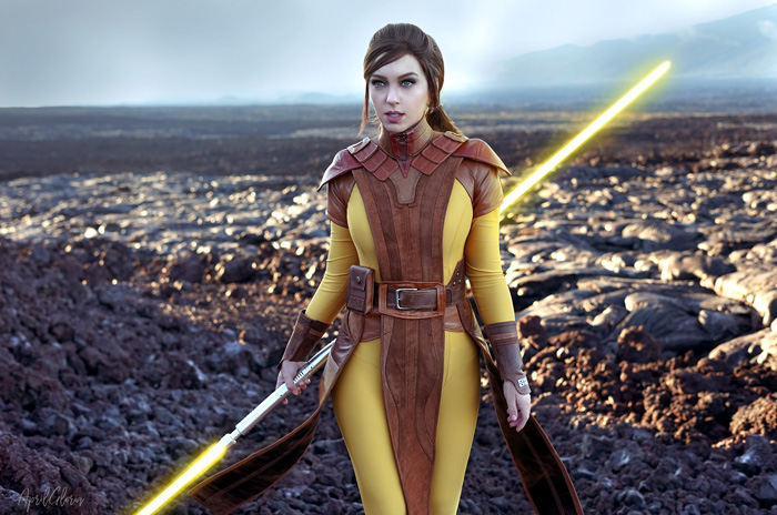 Bastila Shan From Star Wars Knights Of The Old Republic Cosplay