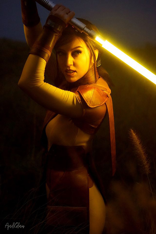 Bastila Shan from Star Wars: Knights of the Old Republic Cosplay