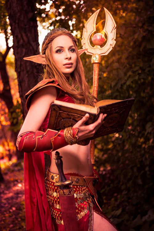 Blood Elf from World of Warcraft Cosplay